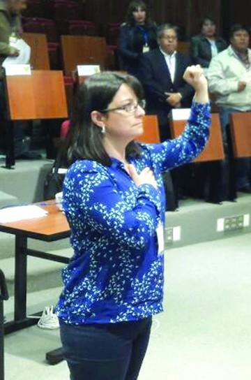 La edil Rocío Molina es la nueva presidenta de la AMB