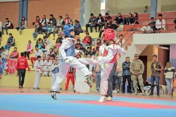El taekwondo nacional se congregó en Liceo Militar