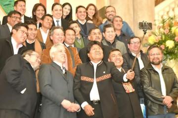 Gobierno deja Palacio Quemado