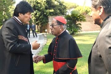 Cardenal teme violencia y Evo sube críticas al 21F