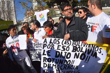 """Colectivos anuncian que marcharán en todo el país por el """"Bolivia dijo No"""""""