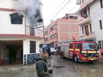 Incendio vuelve a denotar falta de un carro bombero