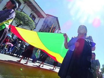 El Día de la Patria transcurrió en Sucre con mayor fervor cívico