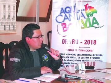 """Lanzan convocatoria para """"Aquí… Canta Bolivia"""""""