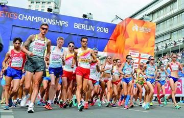 Alerta de fuego retrasa prueba atlética en Berlín