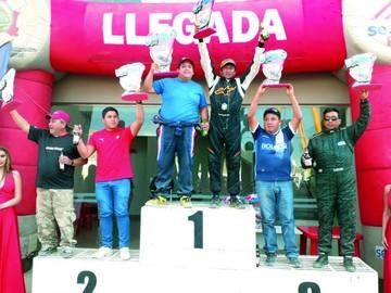 Chuquisaqueños Pérez y Peña celebran en Potosí
