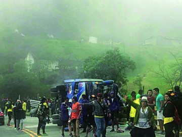 Accidente enluta al fútbol ecuatoriano