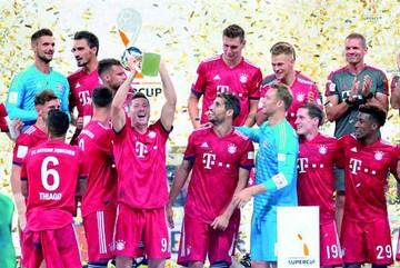 Bayern alza otro título gracias a Lewandowski