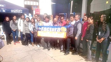 La Factura de la Felicidad toca a 30 clientes de Sucre