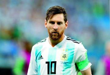 "Messi ""se baja"" de partidos amistosos de la Albiceleste"