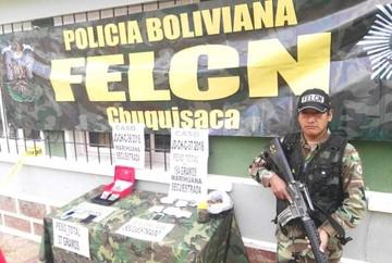 FELCN aprehende a tres personas en posesión de marihuana en Sucre