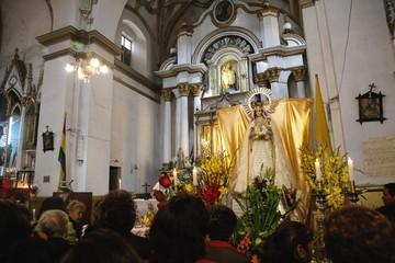 Urkupiña: Piden unidad y trabajo para los bolivianos en misa central