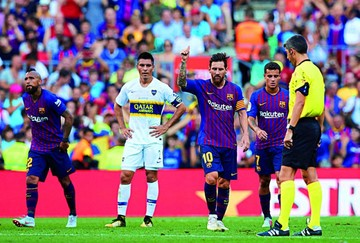 Barcelona golea a Boca y se queda  con el Gamper