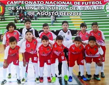 """La Sub 10 de Chuquisaca  avanza a """"semis"""" de futsal"""
