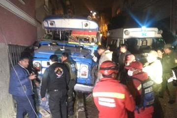 La Paz: Sube a siete el número de fallecidos por atropello de micro en  Villa Victoria