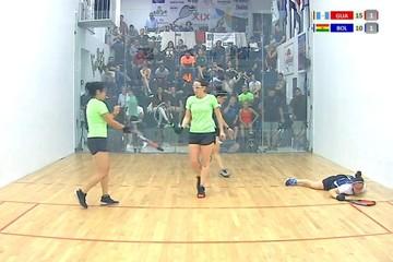Raquetbol: Las mujeres avanzan a la final y los varones se quedan en semifinales del Mundial