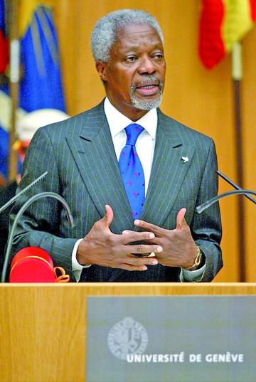 El mundo rinde tributo a Kofi Annan por su labor