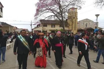 Monteagudo celebra aniversario con desfile cívico