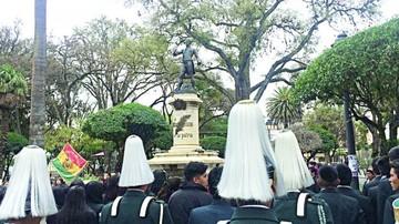 Monteagudo es recordado por estudiantes de colegio