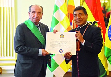 Brasil solicita a Bolivia  ser un factor de unidad
