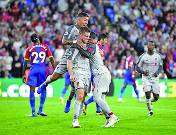 Liverpool sufre para seguir invicto en la Premier inglesa