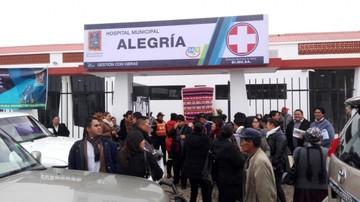 """Inauguran hospital Municipal """"Alegría"""" en el Distrito 6 de Sucre"""