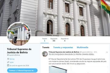 Tribunal Supremo de Justicia crea su cuenta de Twitter