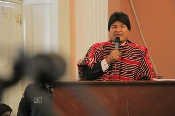 Morales propone una Ley contra la mentira para autoridades y medios