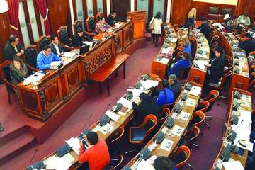 Diputados aprueba ley  que reafirma reelección de Evo