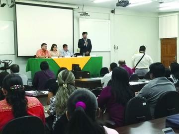 TCP y U de Pando inician curso sobre constitucionalismo