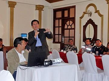 La AEB considera a Chuquisaca para el nuevo satélite