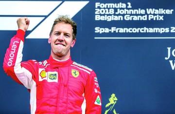 Vettel impone su ley