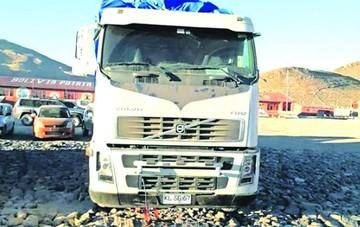 En Chile investigan robo a camioneros en frontera