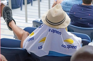El calor azota al US Open