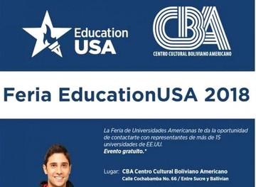 ¿Deseas estudiar en Estados Unidos?, el CBA te informa sobre las posibilidades