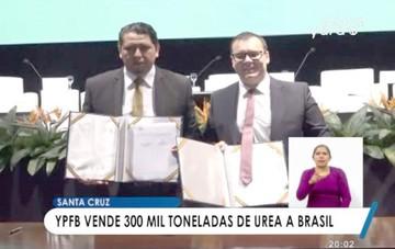 Yacimientos firma venta de más urea  a empresa brasileña