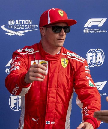 """F1: Kimi """"vuela"""" en Monza"""