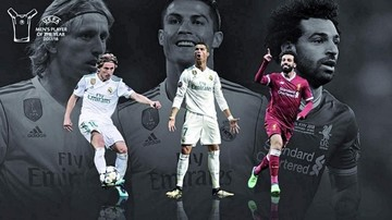 The Best ¿será Modric, CR7 o Salah?