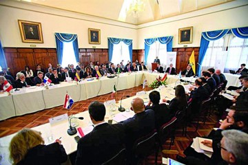 Buscan acuerdos para afrontar migración venezolana