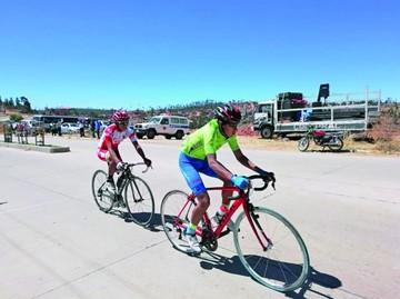 Los Cintis y Presto ponen freno a Sucre en ciclismo