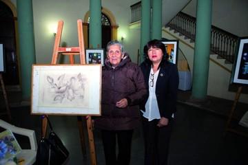 Exposición de artes visuales