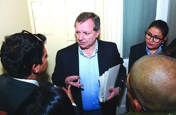 """""""Gringo"""" Gonzales expone plan para cargo en la OEA"""