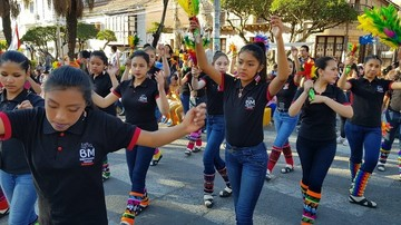 Colegiales e invitados cumplen su promesa de fe a la Virgen de Guadalupe
