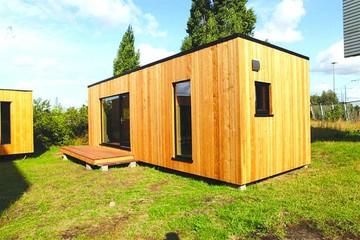 """Diseñan casas ecológicas para acoger a """"sin techo"""""""