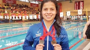 Karen Torrez bate récord y sueña con el Mundial
