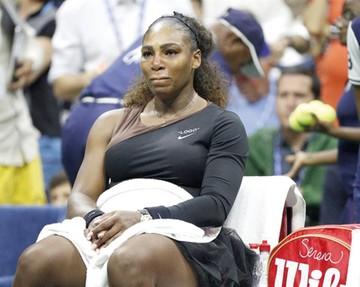 Serena sufre sanción  por su conducta