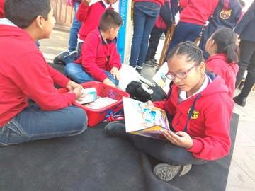 Fomentan lectura con 35 bibliotecas comunitarias