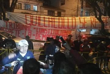 Quillacolleños anuncian huelga de hambre en el TCP por conflicto edil