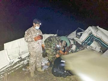 Tres fallecidos en accidente de avioneta