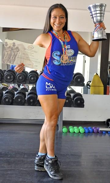 Verónica Durán Quiere dejar huella para los nuevos atletas